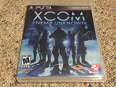 XCOM: Enemy Unknown (Sony PlayStation 3, 2012) Complete + Tested CIB
