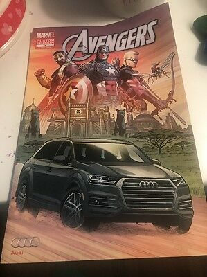 2016 Audi Brochure Marvel Avengers Comic Book Custom Edition 1