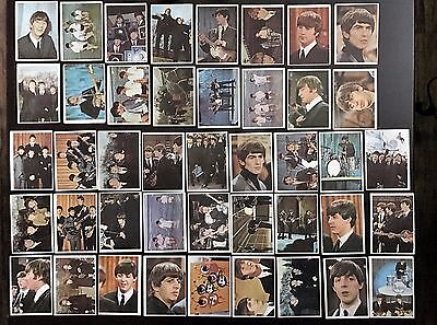 Beatles 1964 Topps Color Cards 44/64 - VYGD-EX condition