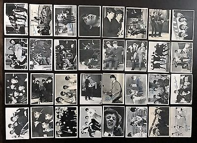 Beatles 1964 Topps Trading Cards - 3rd Series (116-165) 32/50 cards