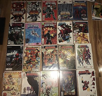 Deadpool lot of 33 comics, ALL NM,, (vol 5.) 1-19 and more!  MOVIE SOON!