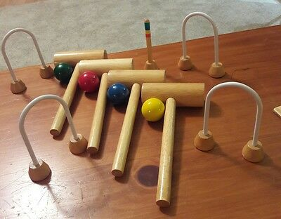 AEH Tabletop Croquet Complete set