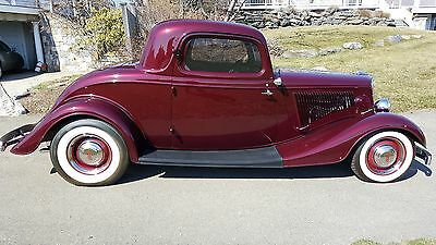 1934 Ford Other Full Fendered 1934 Ford 3 Window Coupe Hot Rod