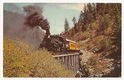 D.R.G. Narrow Gauge Railroad Durango Silverton Colorado Train Rockwood Bridge