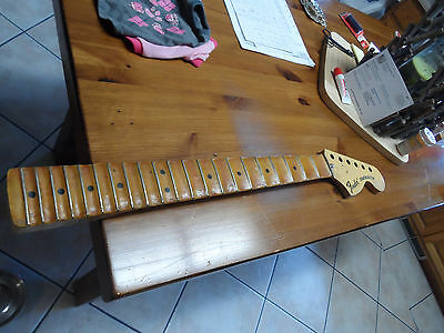 Vintage 1972 RI Fender Stratocaster Strat Guitar Neck Scalloped Malmsteen