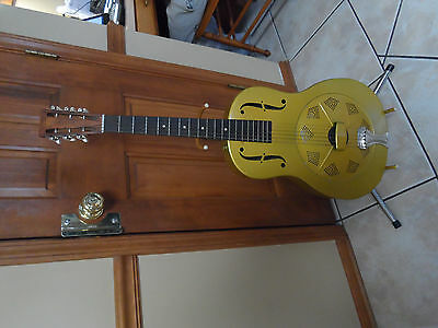 Vintage National Duolian Steel Dobro Guitar
