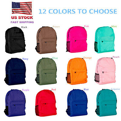 Back to School Kids School Bag Backpack Classic Preschool Sports Bags Wholesale