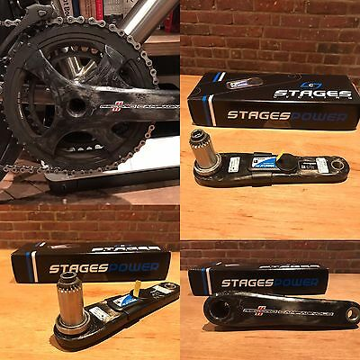 Campagnolo Record Crankset Complete Power Meter Stages Campy Carbon