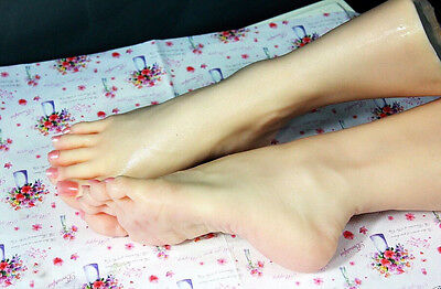 silicone Lifelike Mannequin Foot Dummy arbitrarily-bent//posed/soft cloning mode