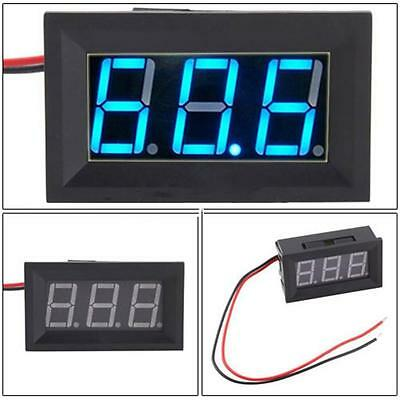 DC 4.5-30V 2 Wire LED Panel LED Mini 3 Digit Digital Voltmeter Voltage MeterHot