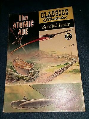 The Atomic Age Classics Illustrated Special issue (1955) #156A vg 4.0 1st print