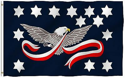 3x5 Whiskey Rebellion Flag Historical Whiskey Tax Outdoor Protest Banner New