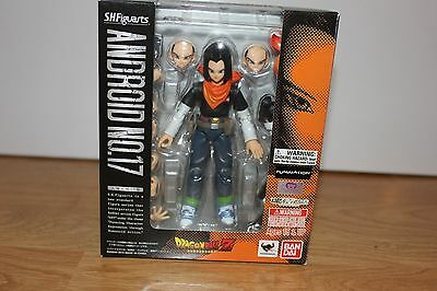 S.H. Figuarts ANDROID 17 Bandai Dragon Ball Z Action Figure USA Authentic