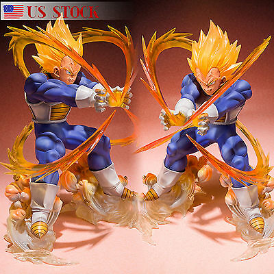 Dragon Ball Z Super Saiyan Vegeta Collection Figure Toys Anime Figurine Gift US