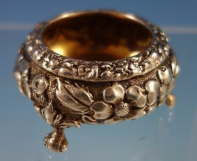 Rose by Stieff Sterling Silver Salt Dip Gold Washed (#1610)