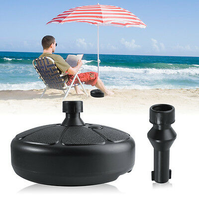 New Plastic Outdoor Living Base Water Stand Fillable Umbrella Market Patio Yard
