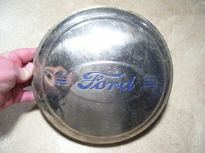 Antique Vintage 1940's Ford V8  Car Dogdish style  Hubcap Wheelcover