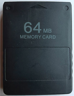 New Sony Playstation PS PS PS 2 PS2 64Mb Memory Card