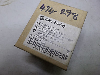 Allen Bradley - Pneumatic Timing Module - On-Delay 0.1....30 Sec - 100-Fpta30
