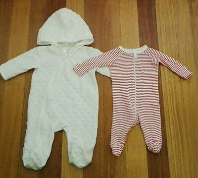 $4 post Baby boy or girl 000 hooded winter one piece 0000 jumpsuit