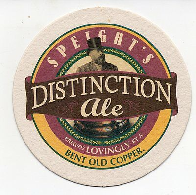 Speight's Distinction Ale New Zealand Beer Coaster