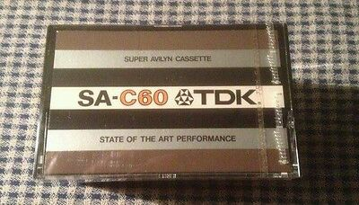 Tdk Sa-C60 -  Cassette  Tape -  Sealed