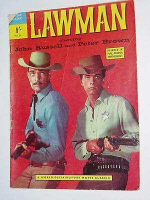 """LAWMAN...""""Movie Classic"""" COMIC....(UK)....1958....number 66.........free postage"""
