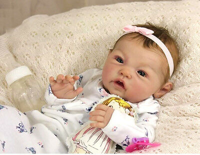 D830 Lovely Reborn Baby Girl Doll Child Friendly H 22 inch Tailor Made
