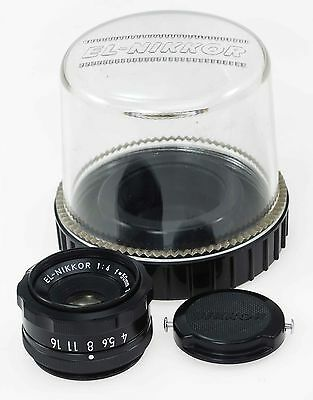 Nikon 50mm F4 EL Nikkor Enlarging Lens & Keeper