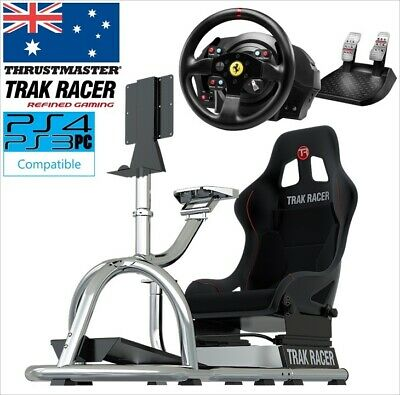 #Combo Racing Simulator Steering & Wheel Stand Cockpit Thrustmaster T300 & RS8