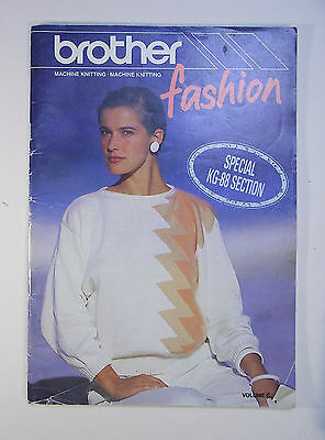 Brother Machine Knitting Fashion Special Kg-88 Section