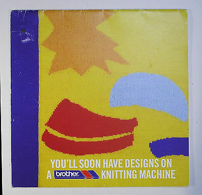 Brother Knitting Machine Booklet Accessories And Attachments