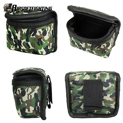 Tactical Hunting Portable Molle Belt Magazine Drop Dump Pouch Storage Bag Camo