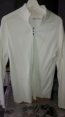 pull gilet blanc homme jules taille xl