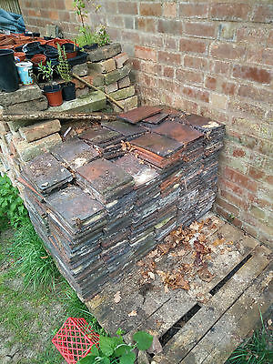 Stafordshire Blue Roof Tiles Reclaimed approx 400