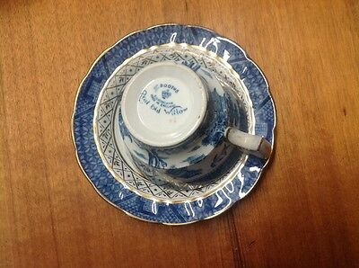 Old Willow Cup & Saucer BOOTHS Made in England