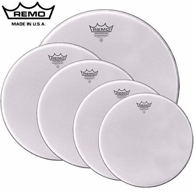 Remo Silent Stroke Mesh Fusion Pack 22 10 12 14 14snr Drum Head Skins