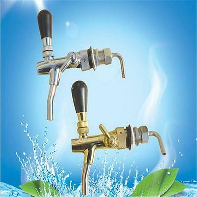 G5/8 Thread Draft Beer Faucet With Long Shank Combo Kit Tap For Kegerator NEW