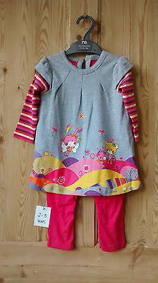 Baby Girl  Outfit Dress 24 months new all-in-one