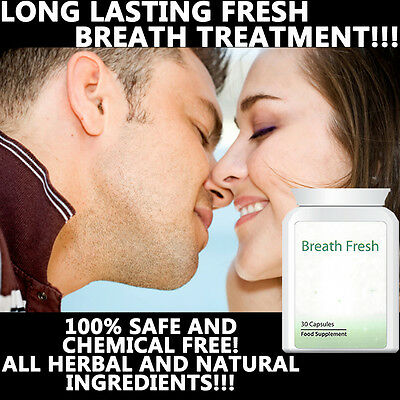 Breath Fresh Bad Breath Pills Tablets Anti Bad Breath Smell Great Kissable