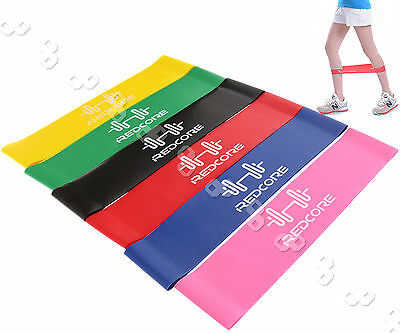 6Pcs Exercise Resistance Bands Yoga Fitness Gym Stretch Heavy Duty Power Bands