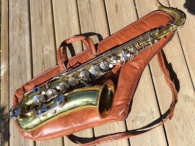 Saxophone Ténor B&M Champion by Weltlkang Made in GDR