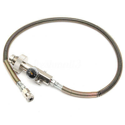 Paintball PCP Air Fill Station Charging Hose 300bar/4500psi Din Refill Adaptor