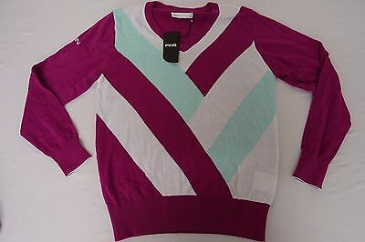 Ladies Ping Cotton Sweater Size 12 NO51