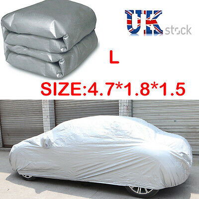 LARGE Full Car Cover UV Protection Dust&Waterproof Breathable Universal UK STOCK