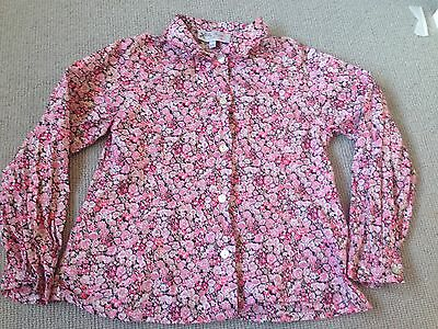 Trotters (Lily Rose) Liberty Print Shirt Age 4/5