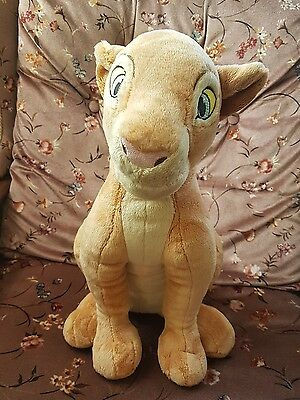 Disney store exclusive adult nala soft plush toy the lion king stamped