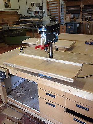 Draper Pillar Drill with Woodworking Fence
