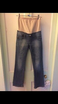 Jeanswest Maternity Jeans - Slim Bootcut Size 6
