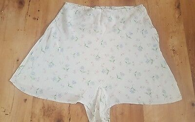 vintage 1940's foral cotton cami knickers